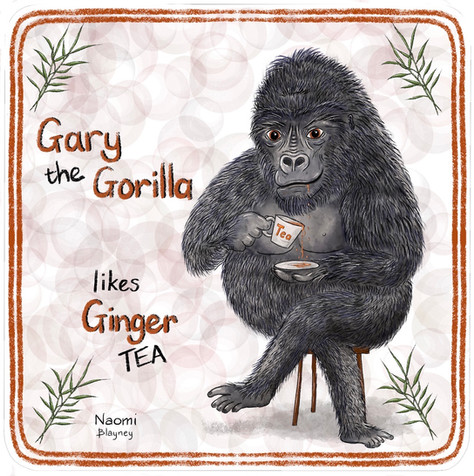 Gary The Gorilla Memory Game Card