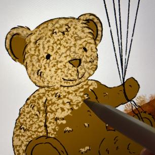 Teddy Bear Sketching