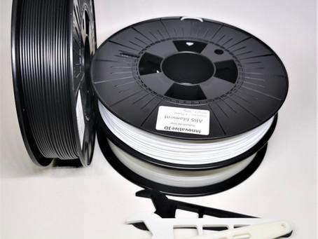 Industrial line ABS filaments from Innovative3D/ Индустриална линия филаменти от Innovative3D