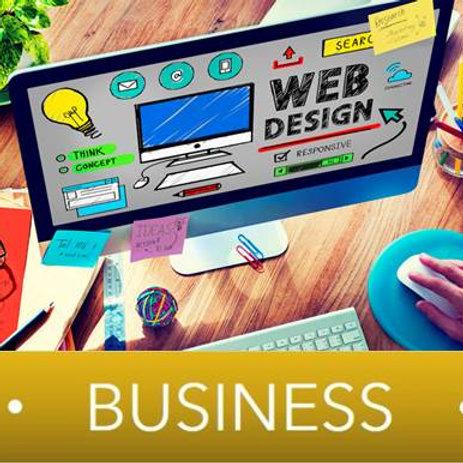 Diseño Sitio Web Plan BUSINESS