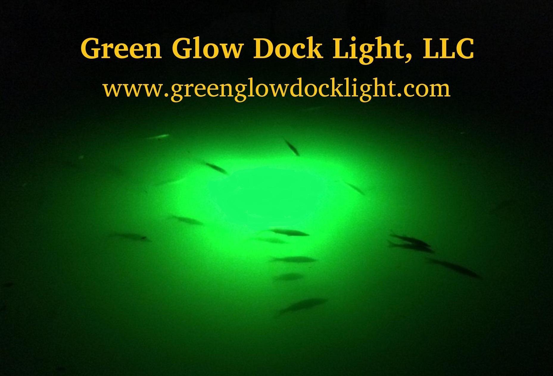 Green Glow Dock Light: Snook Lights, Fishing Light & Dock Lights