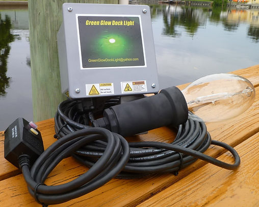 Underwater Dock Light