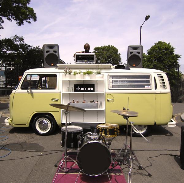 Del the Dub Campervan VW DJ Booth