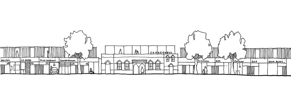 Camberwell Station Architect Poroban