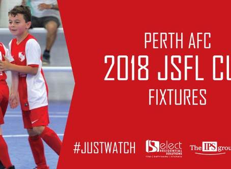 2018 JSFL Cup Fixtures