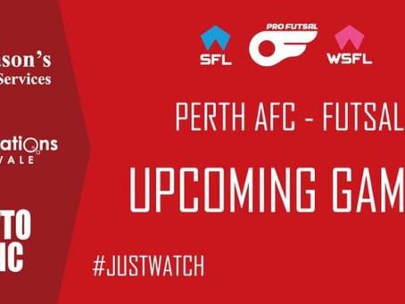 This weeks SFL & WSFL Fixtures.