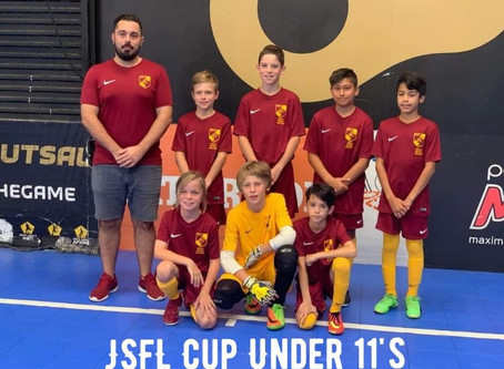 JSFL Cup Under 11's 2018