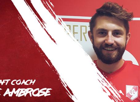 Jake Ambrose Joins The Coaching Ranks.