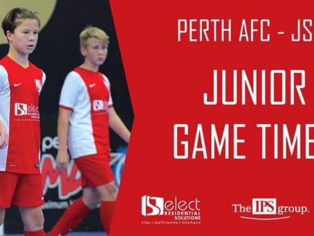 JSFL Game Times For Round 20.