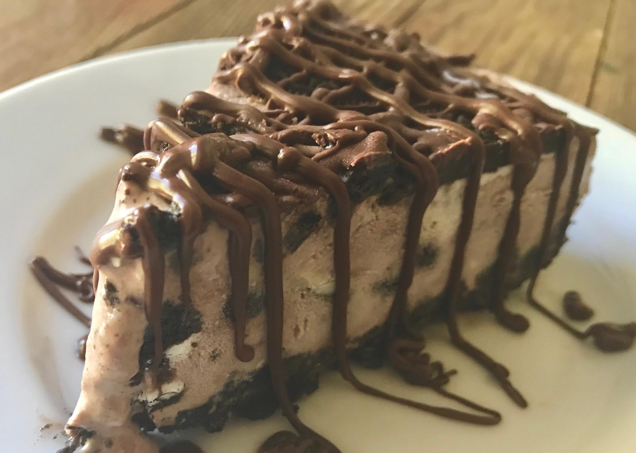 Jeffs Chocolate Cookies Ice Cream Cheesecake No Bake Inspired By The Wawa Drink