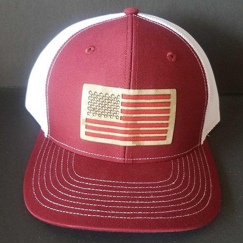 Snap-back Adjustable Richardson 112 - Marine Corps Desert Flag Hat