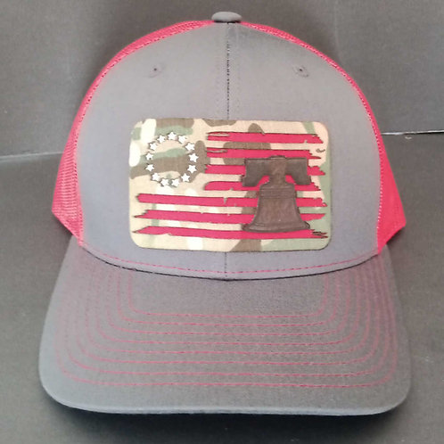 Betsy Ross/Liberty Bell 112 snap back