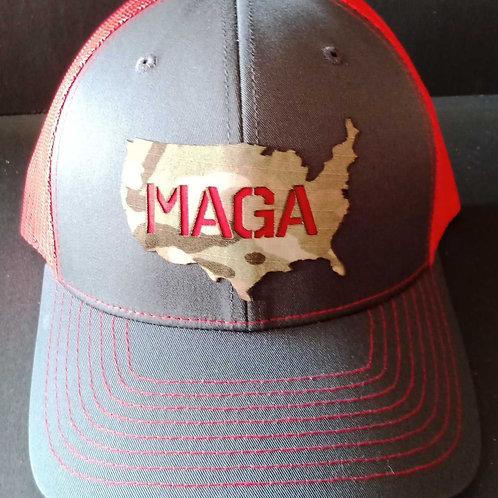 Snap-back Adjustable Richardson 112 - MAGA Hat