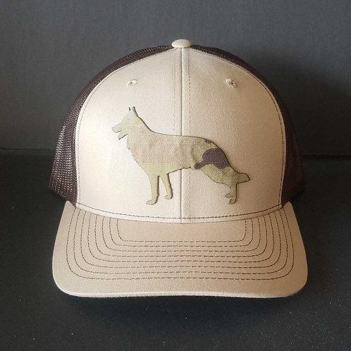 Snap-back Adjustable Richardson 112 - German Shepherd Hat