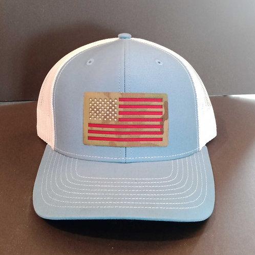 Snap-back adjustable Richardson 112 style hat