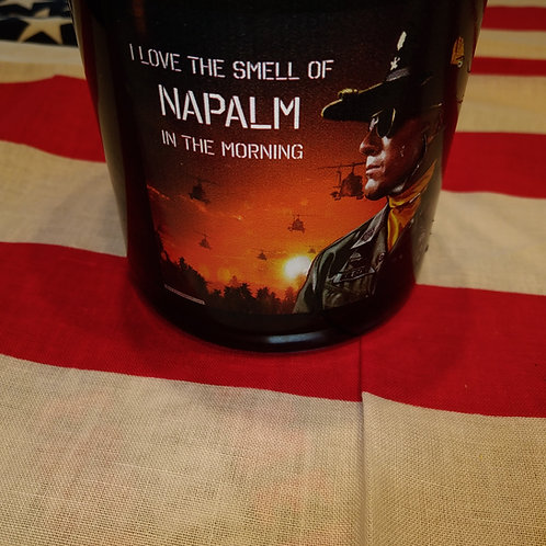 Scent of war Napalm candle