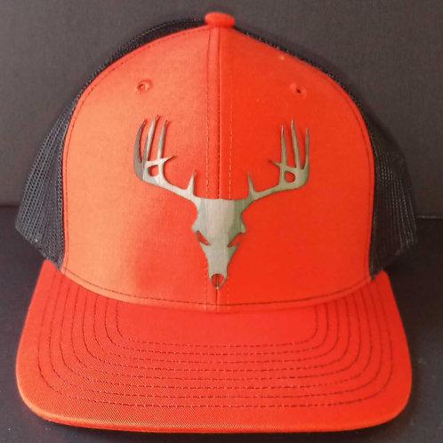 Buck Skull burnt orange 112