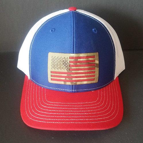 Snap-back Adjustable Richardson 112 - American Flag Hat