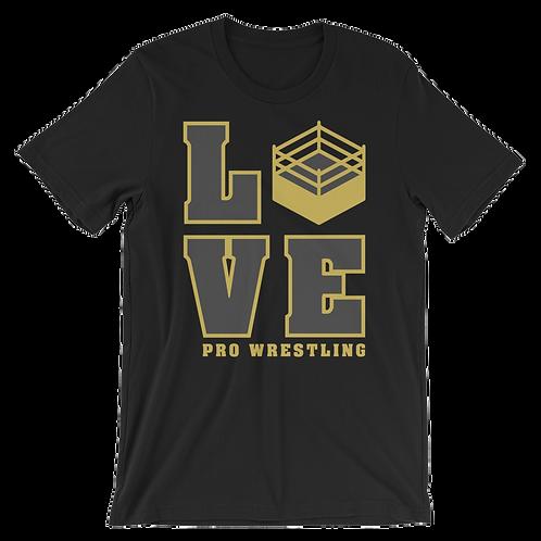 Love Pro Wrestling tee