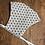 Thumbnail: Maske mit weissem Asanoha-Muster