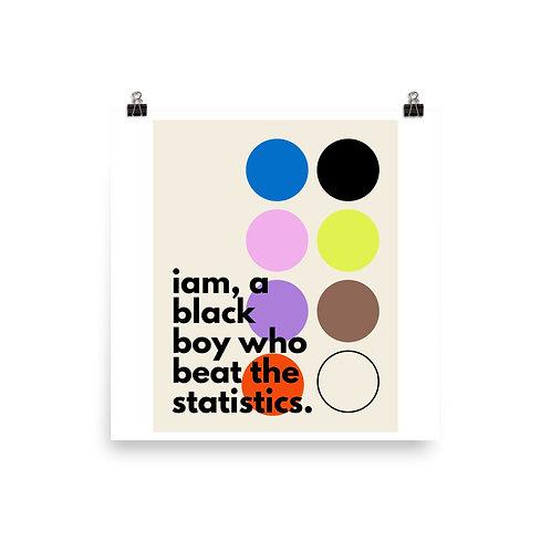Yucky Blucky Poster (Boy)