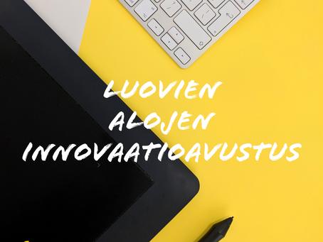 Luovien alojen innovaatioavustus