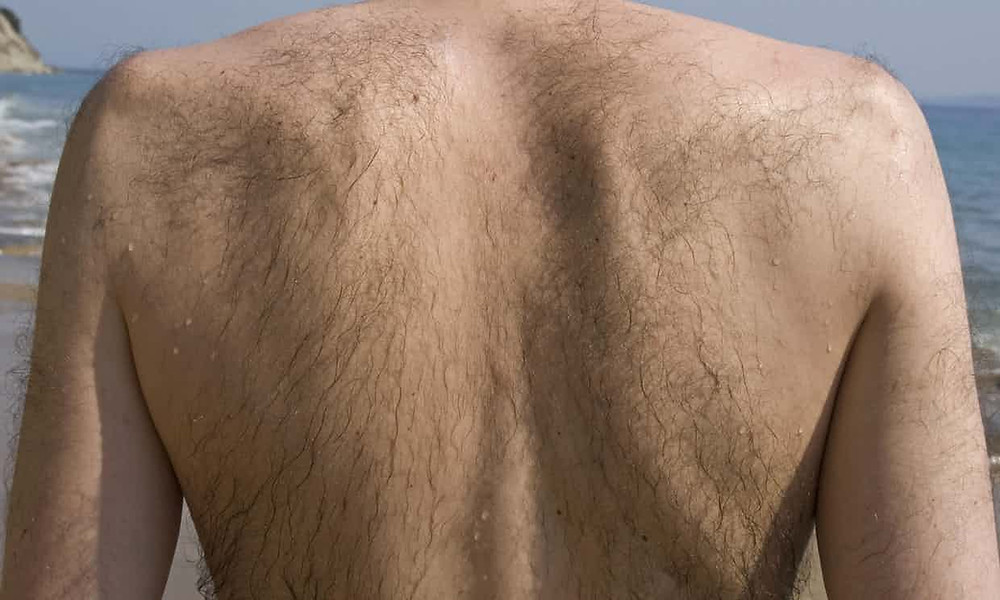 Why some men prefer to get waxed.