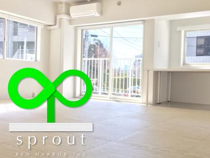 sprout 3月よりスタート!!
