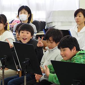 3.11コンサートに向けた黒坂先生との練習