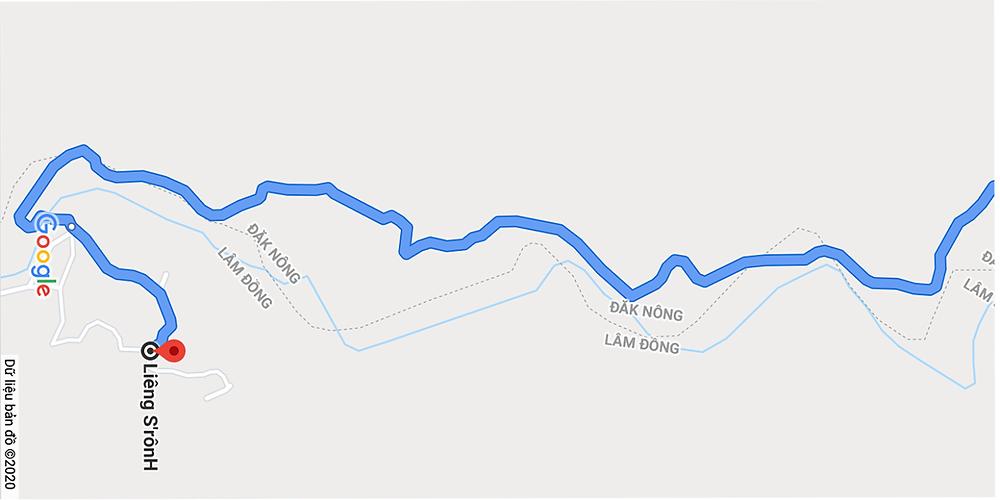 Bản đồ đường đi đến Tiểu khu 179