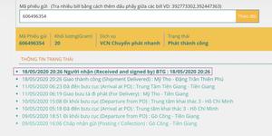 Ngày 18 tháng 5 năm 2020, ban Tôn giáo tỉnh Tiền Giang sau nhiều lần thoái thác, cuối cùng cũng ký nhận thư yêu cầu do ông Trần Ngọc Sương gửi.