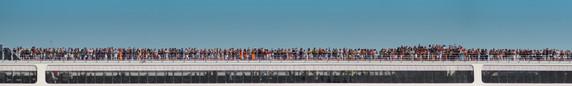 Cruise liner passing through Venice