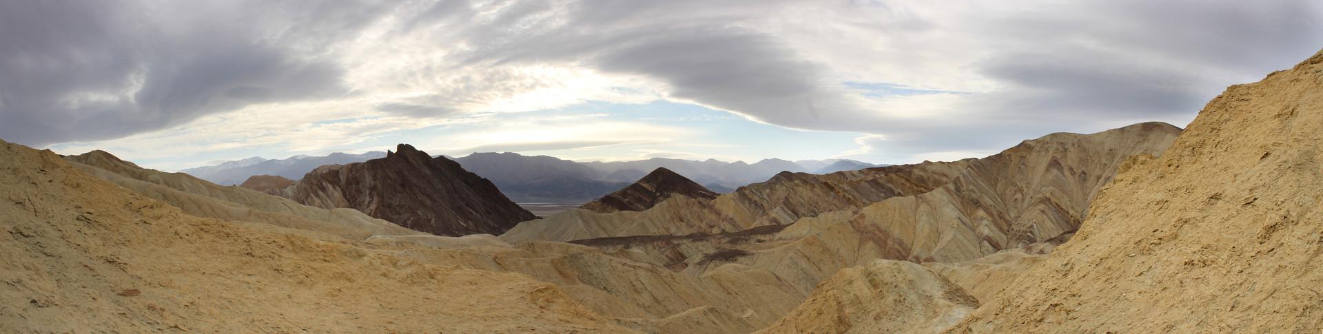 Golden Canyon. California, USA  1
