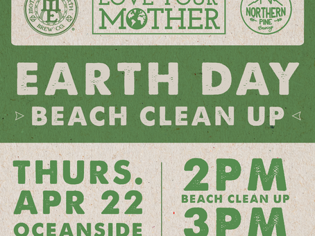 Pick Up Some Trash, Drink a Beer - We're Teaming Up with Northern Pine Brewing for Earth Day in SD.