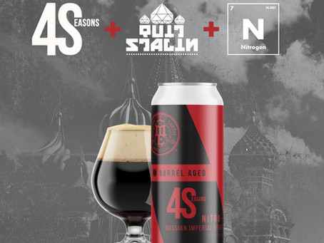 Beer Release: We 'Quit Stalin' and Brought You Our Legendary RIS for 4Seasons Summer '21.