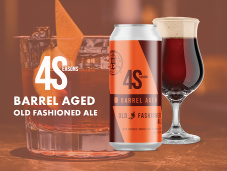 Curl Up on the Couch with Our Latest Cocktail-Inspired 4Seasons Old Fashioned Ale