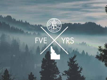 Event: 5 Years in Idaho