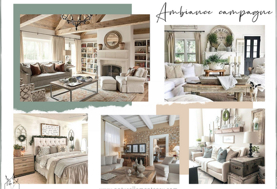 Un style, une ambiance…. campagne chic