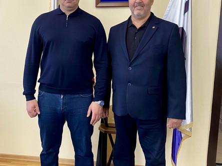 Встреча с мэром города Иркутска