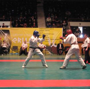 Момент боя Всероссийского турнира памяти