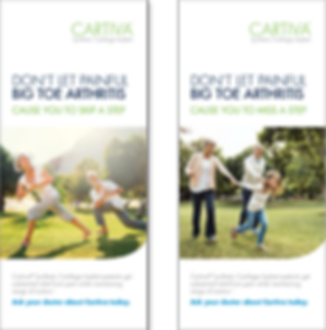 Cartiva Banners
