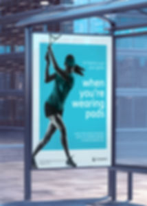 Coloplast Bus Stop Ad