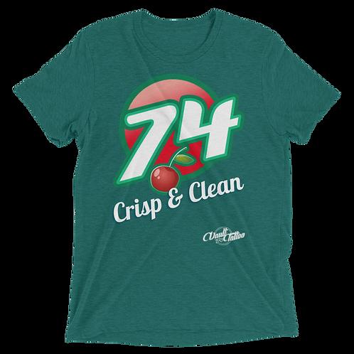 Cherry 74 Tri-Blend Tee