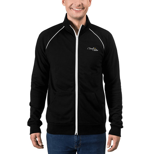 V74 Embroidered Piped Fleece