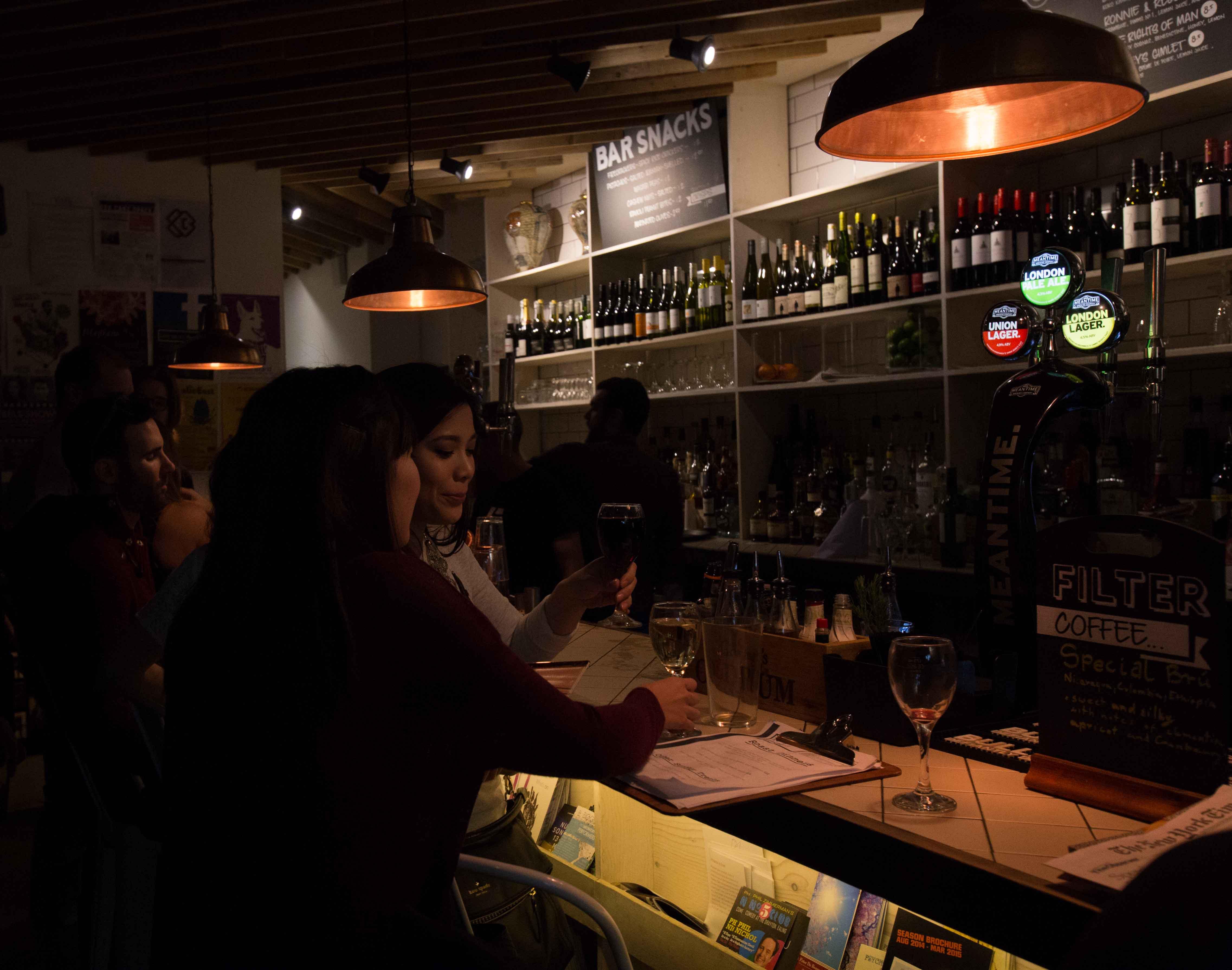 The Proud Archivist Bar