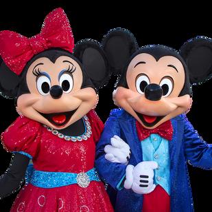 Mickey & Mini Mouse