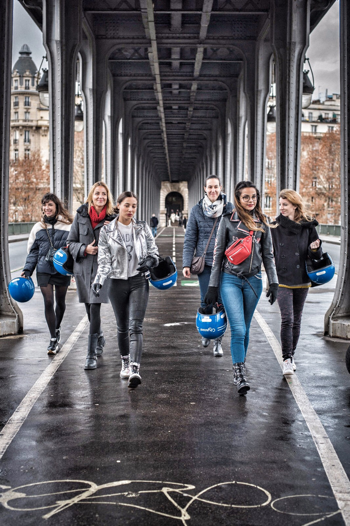 Cityscoot Une promenade dans Paris