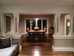 London Construction Dining Room Remodel