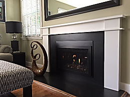 London Construction Fireplace Remodel