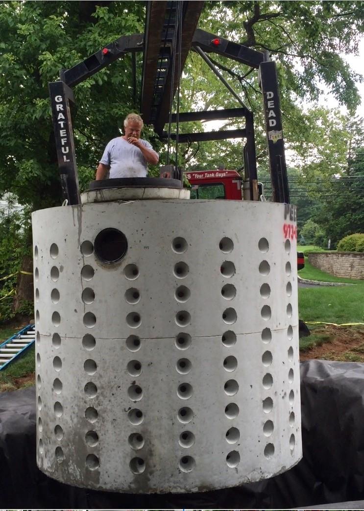 Drywell Installation
